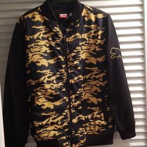 Puma boys bomber jacket